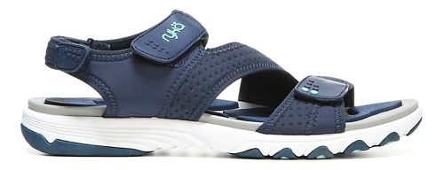 Womens Ryka Dominica Sandals Shoe - Navy/Mint 8.5