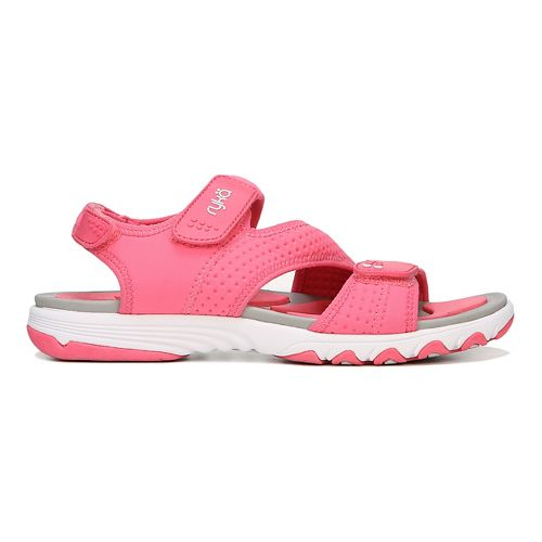 Womens Ryka Dominica Sandals Shoe - Coral/Grey 5
