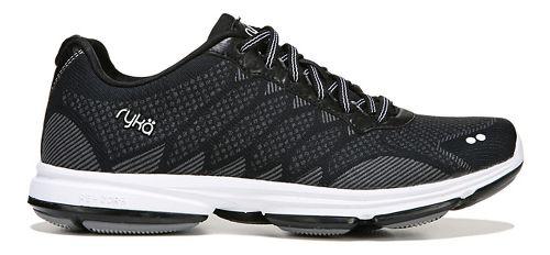 Womens Ryka Dominion Walking Shoe - Black/White 5.5