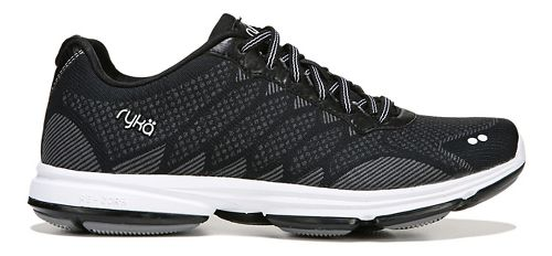 Womens Ryka Dominion Walking Shoe - Black/White 7