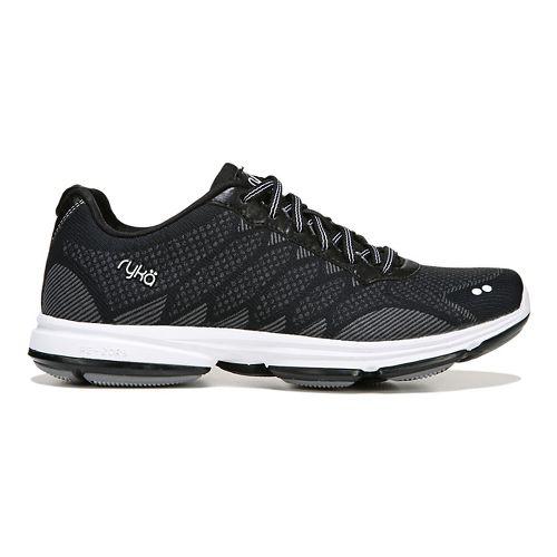 Womens Ryka Dominon Walking Shoe - Black/White 8