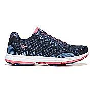 Womens Ryka Dominion Walking Shoe - Navy/Blue/Coral 9.5