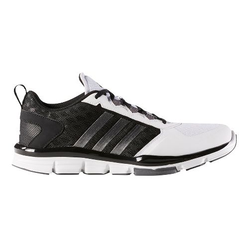 Mens adidas Speed Trainer 2 Cross Training Shoe - Black/Carbon/White 6.5