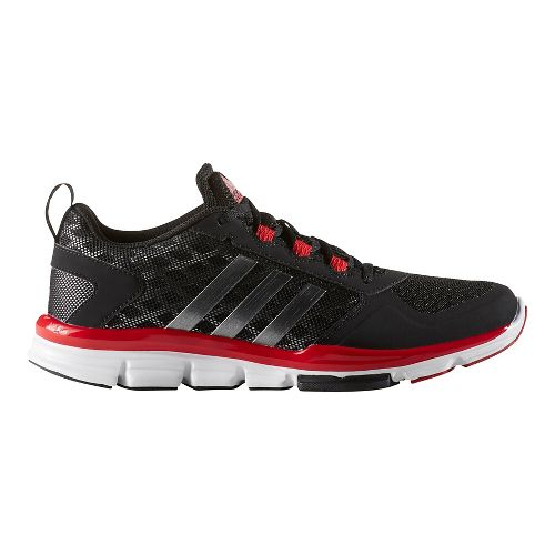Mens adidas Speed Trainer 2 Cross Training Shoe - Black/Red 4.5