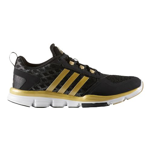 Mens adidas Speed Trainer 2 Cross Training Shoe - Black/Gold 7