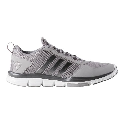 Mens adidas Speed Trainer 2 Cross Training Shoe - White/Carbon 16