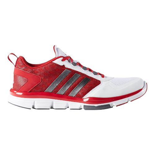 Mens adidas Speed Trainer 2 Cross Training Shoe - Red/Carbon/White 13