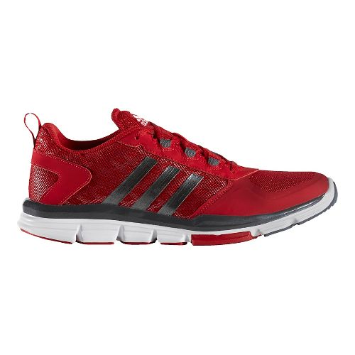 Mens adidas Speed Trainer 2 Cross Training Shoe - Red/Grey 15