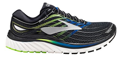 Mens Brooks Glycerin 15 Running Shoe - Black/Blue 8.5