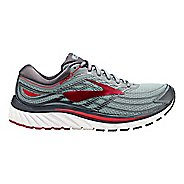 Mens Brooks Glycerin 15 Running Shoe - Grey/Red 11
