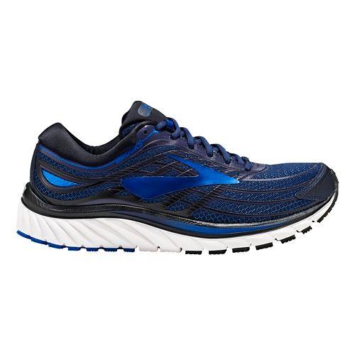 Mens Brooks Glycerin 15 Running Shoe - Navy/Blue 8