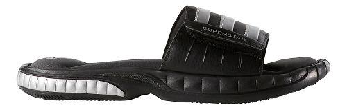 Mens adidas Superstar 3G Sandals Shoe - Black/Silver 7