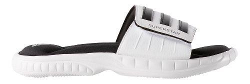 Mens adidas Superstar 3G Sandals Shoe - White/Black 10