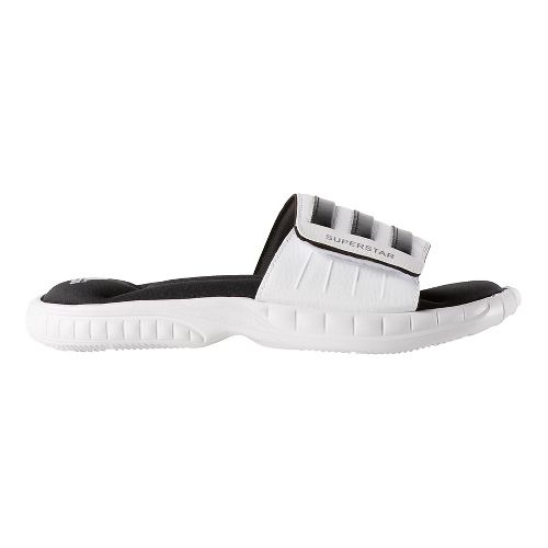Mens adidas Superstar 3G Sandals Shoe - White/Black 13