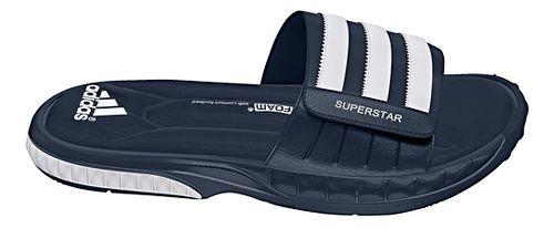 Mens adidas Superstar 3G Sandals Shoe - Navy/White 11