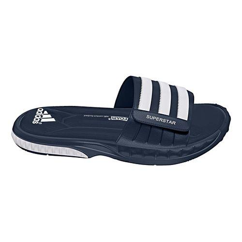 Mens adidas Superstar 3G Sandals Shoe - Navy/White 12