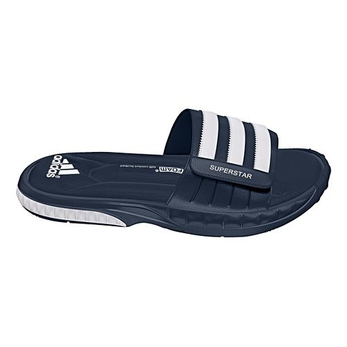 Mens adidas Superstar 3G Sandals Shoe - Navy/White 9