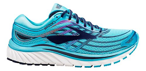 Womens Brooks Glycerin 15 Running Shoe - Capri Blue 8.5