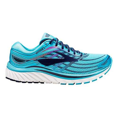 Womens Brooks Glycerin 15 Running Shoe - Capri Blue 7