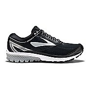 Mens Brooks Ghost 10 Running Shoe - Black/Silver 11.5