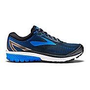 Mens Brooks Ghost 10 Running Shoe - Black/Blue 9.5