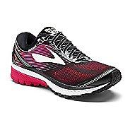 Womens Brooks Ghost 10 Running Shoe - Black/Pink 12