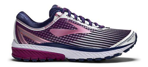 Womens Brooks Ghost 10 Running Shoe - Grey/Teal 9