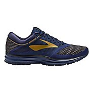 Mens Brooks Revel Running Shoe - Blue/Lime 12