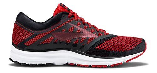 Mens Brooks Revel Running Shoe - Red/Black 10