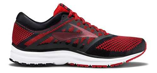 Mens Brooks Revel Running Shoe - Red/Black 11
