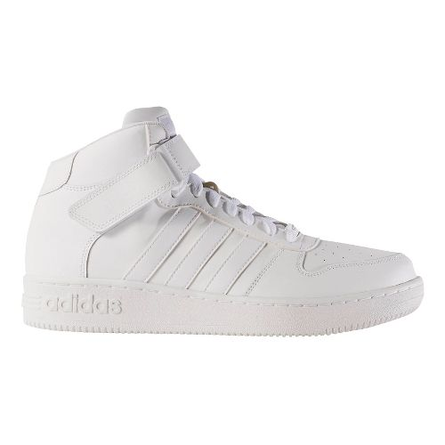 Mens adidas Team Court Mid Casual Shoe - Footwear White 12