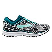 Womens Brooks Revel Running Shoe - Black/Mint 9