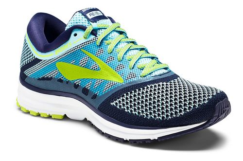 Womens Brooks Revel Running Shoe - Blue 9