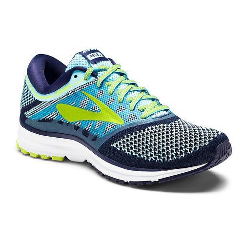 Womens Brooks Revel Running Shoe - White/Black 9