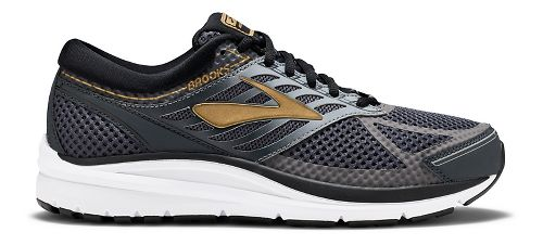 Mens Brooks Addiction 13 Running Shoe - Black/Gold 13