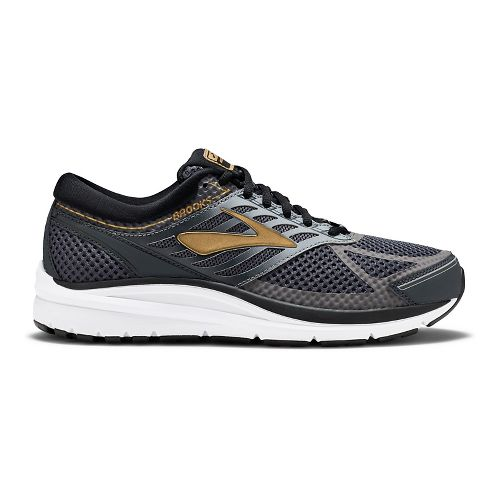 Mens Brooks Addiction 13 Running Shoe - Black/Gold 14