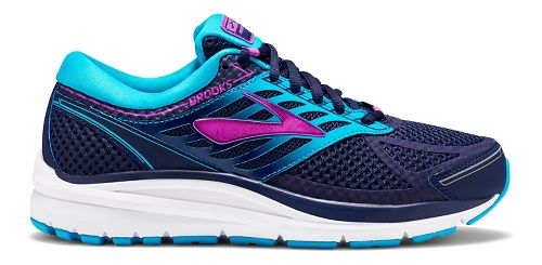 Womens Brooks Addiction 13 Running Shoe - Blue/Purple 7.5