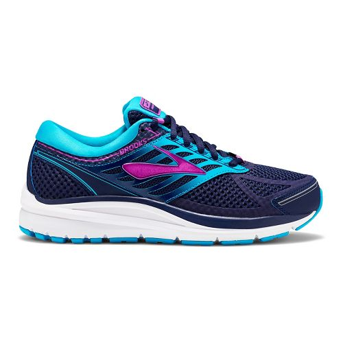 Womens Brooks Addiction 13 Running Shoe - Blue/Purple 6