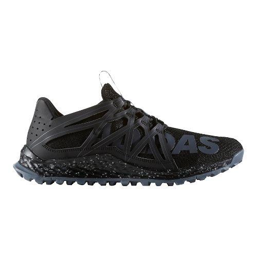 Mens adidas Vigor Bounce Trail Running Shoe - Core Black/Grey 11.5