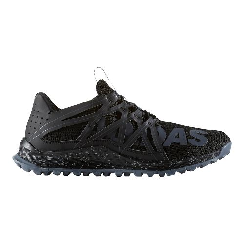 Mens adidas Vigor Bounce Trail Running Shoe - Core Black/Grey 9