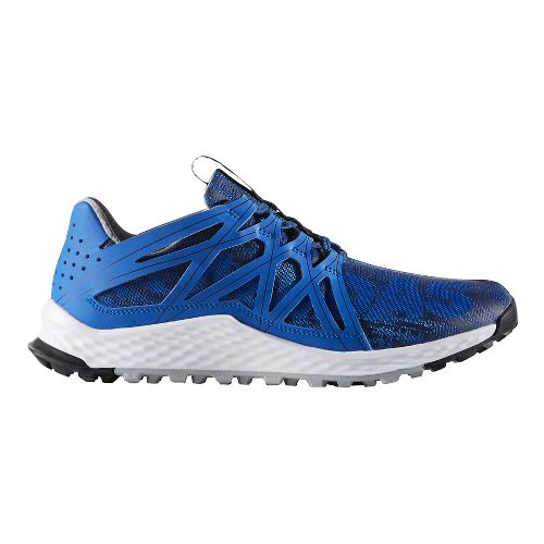 Mens adidas Vigor Bounce Trail Running Shoe - Blue/Mystery Blue 8.5
