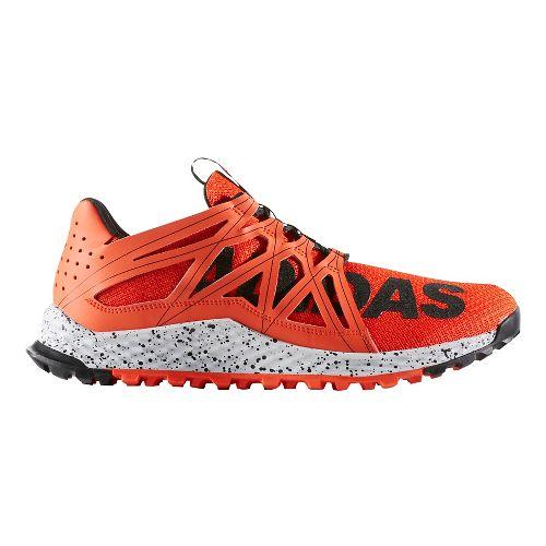 Mens adidas Vigor Bounce Trail Running Shoe - Red/Black 11