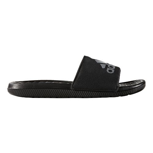 Mens adidas Voloomix Sandals Shoe - Black/Silver 13