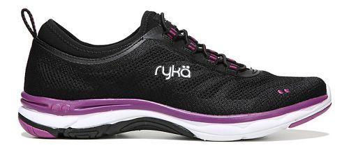 Womens Ryka Fierce Walking Shoe - Black/Pink 8