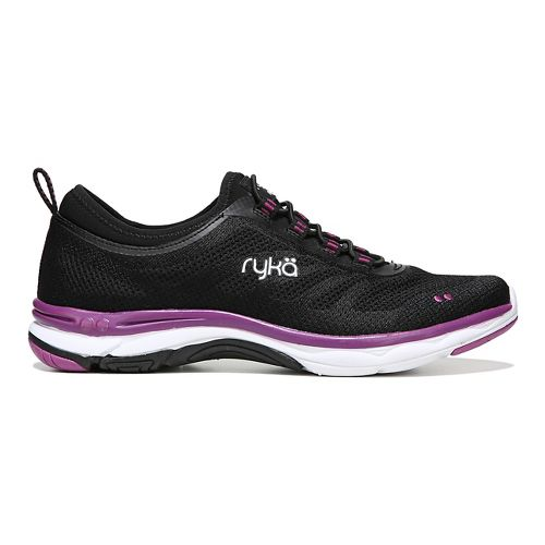 Womens Ryka Fierce Walking Shoe - Black/Pink 5.5