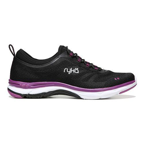 Womens Ryka Fierce Walking Shoe - Black/Pink 7.5