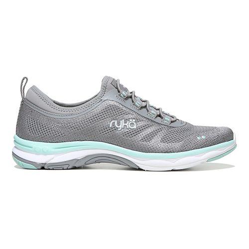 Womens Ryka Fierce Walking Shoe - Grey/Mint 7.5