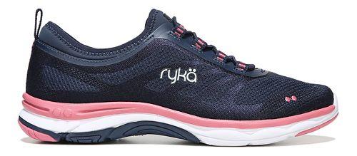 Womens Ryka Fierce Walking Shoe - Navy/Coral 5.5