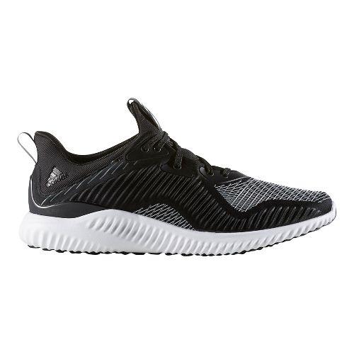 Mens adidas AlphaBounce HPC Casual Shoe - Core Black/White 7.5