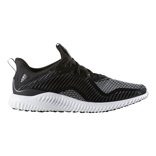 Mens adidas AlphaBounce HPC Casual Shoe - Core Black/White 9.5
